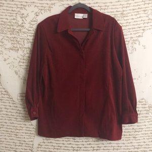 Worthington Stretch Sueded Jacket